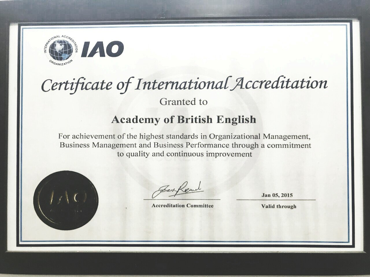 Academy of British English